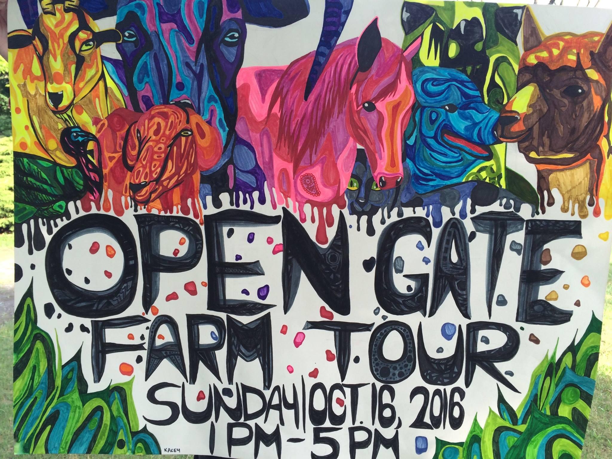 Open Gate Farm Tour
